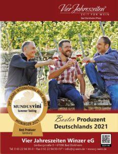 Bester Produzent Deutschlands 2021